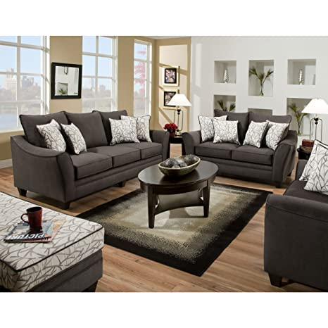 Amazon.com: Flash Muebles 3850 Series salón (4 piezas ...