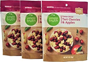 Simple Truth Freeze-Dried Tart Cherries & Apples 1 oz (3 Pack)