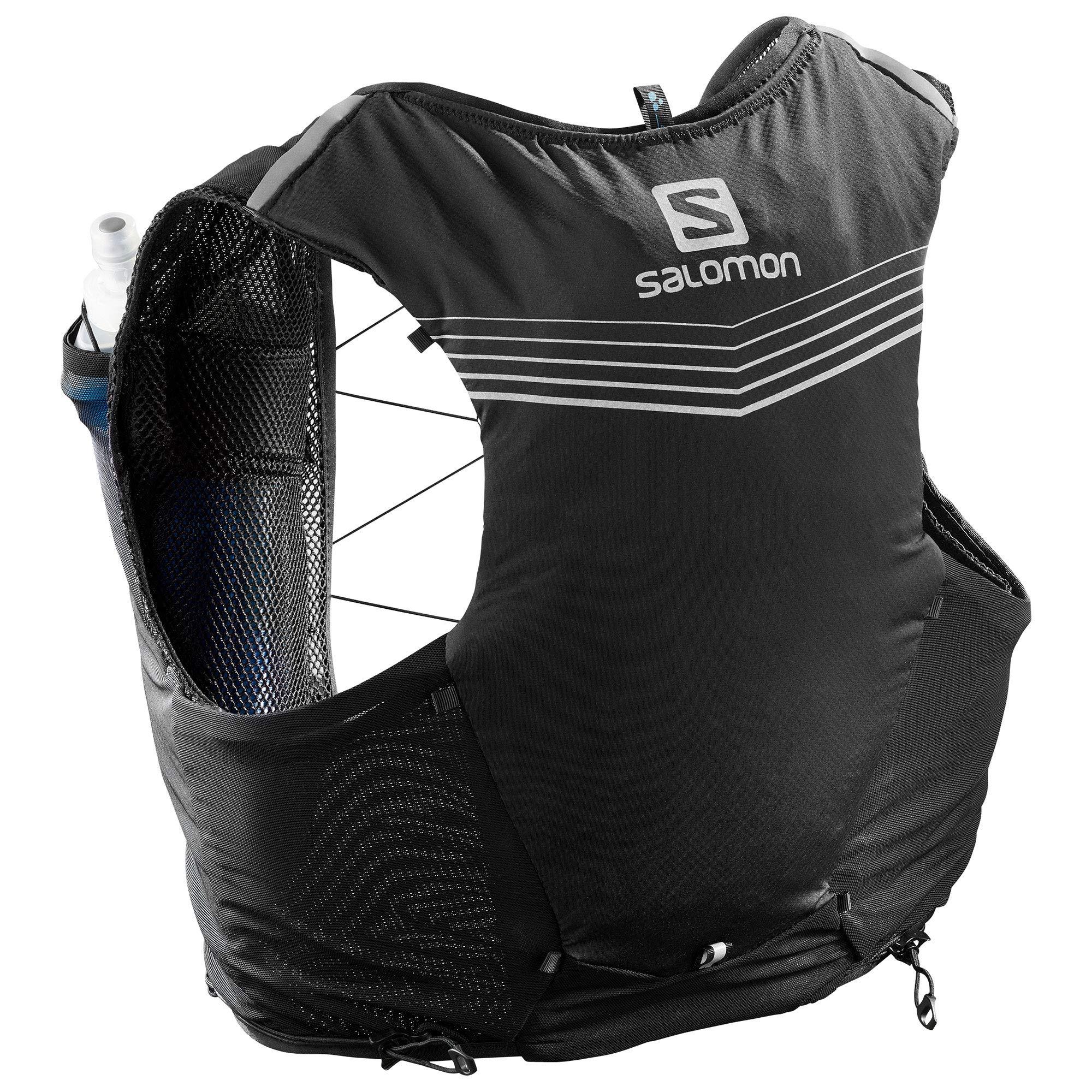 Salomon Unisex Adv Skin 5 Set Black X-Large