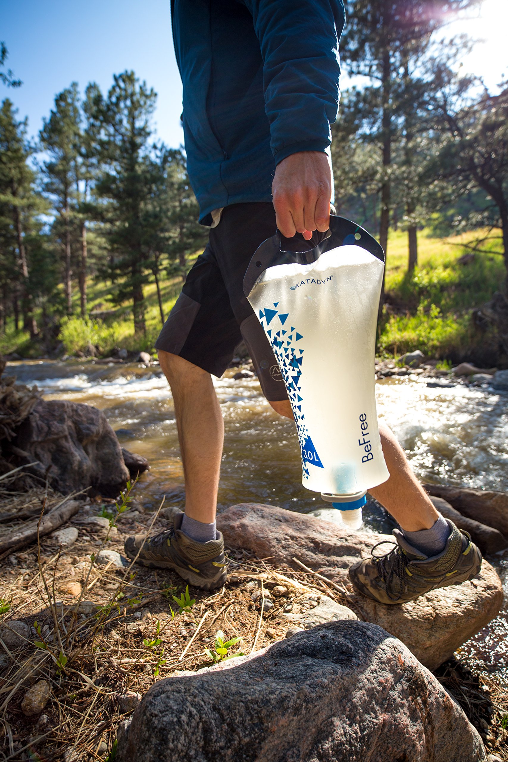 Katadyn BeFree 3.0L Water Filter, Fast Flow, 0.1 Micron EZ Clean Membrane for Personal or Small Group Camping, Backpacking or Emergency Preparedness by Katadyn (Image #3)