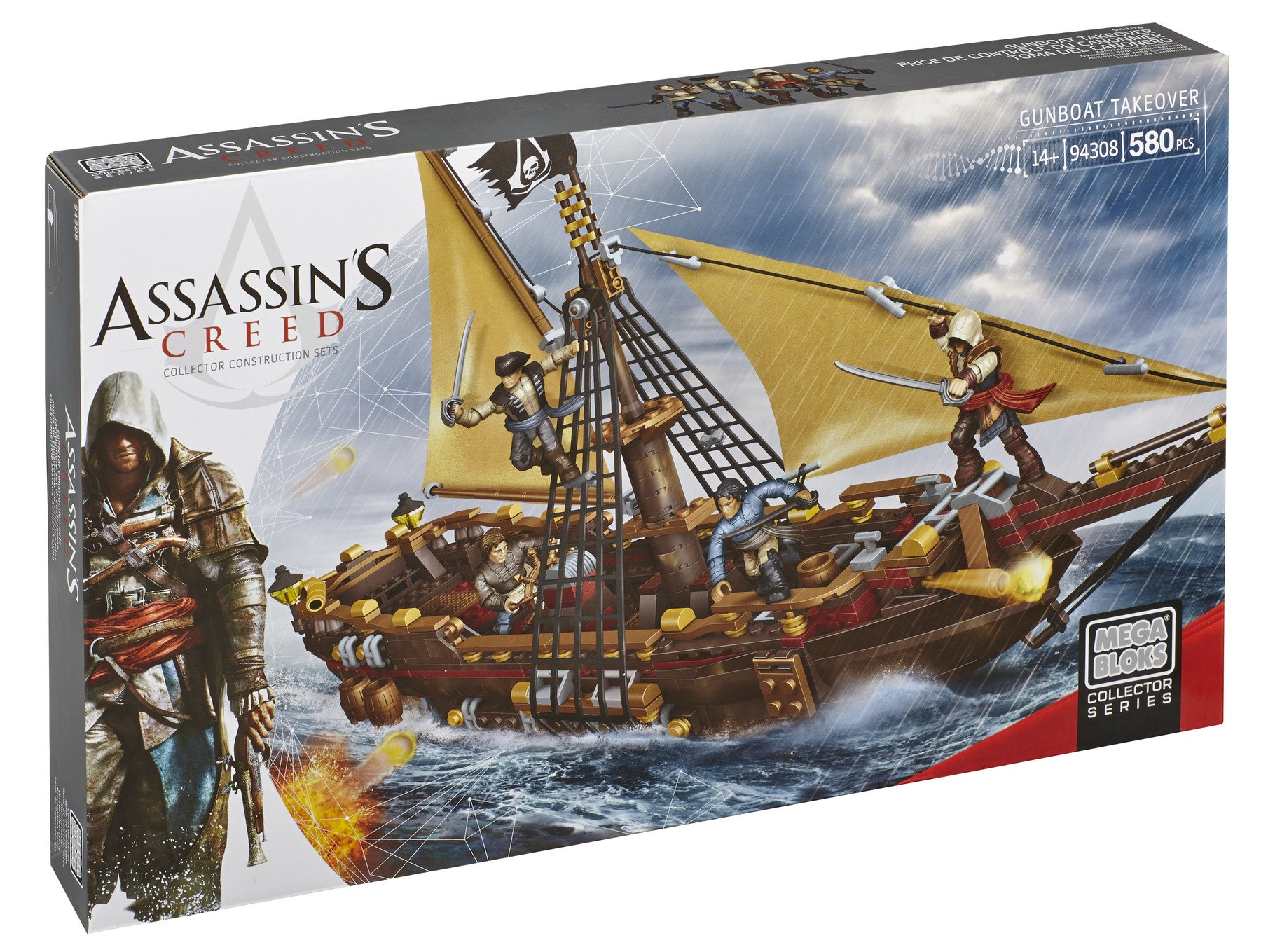Mega Bloks Assassin's Creed Gunboat Takeover 14