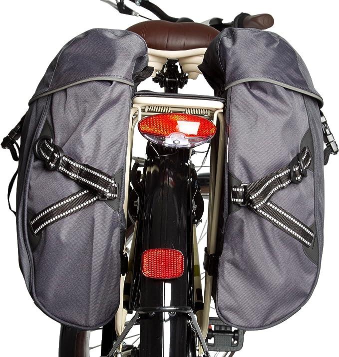 Btwin B en alforja para Bicicleta Doble para Classic X2-15 L ...