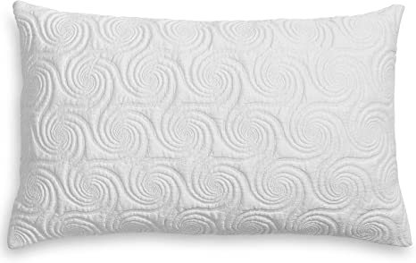 hulyahome the hulya polar cooling adjustable memory foam pillow sustainably resourced hypoallergenic dust mite resistant toxin free the