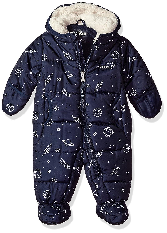224c81538 Amazon.com  OshKosh B Gosh Osh Kosh Baby Boys  Heavyweight Pram Suit ...