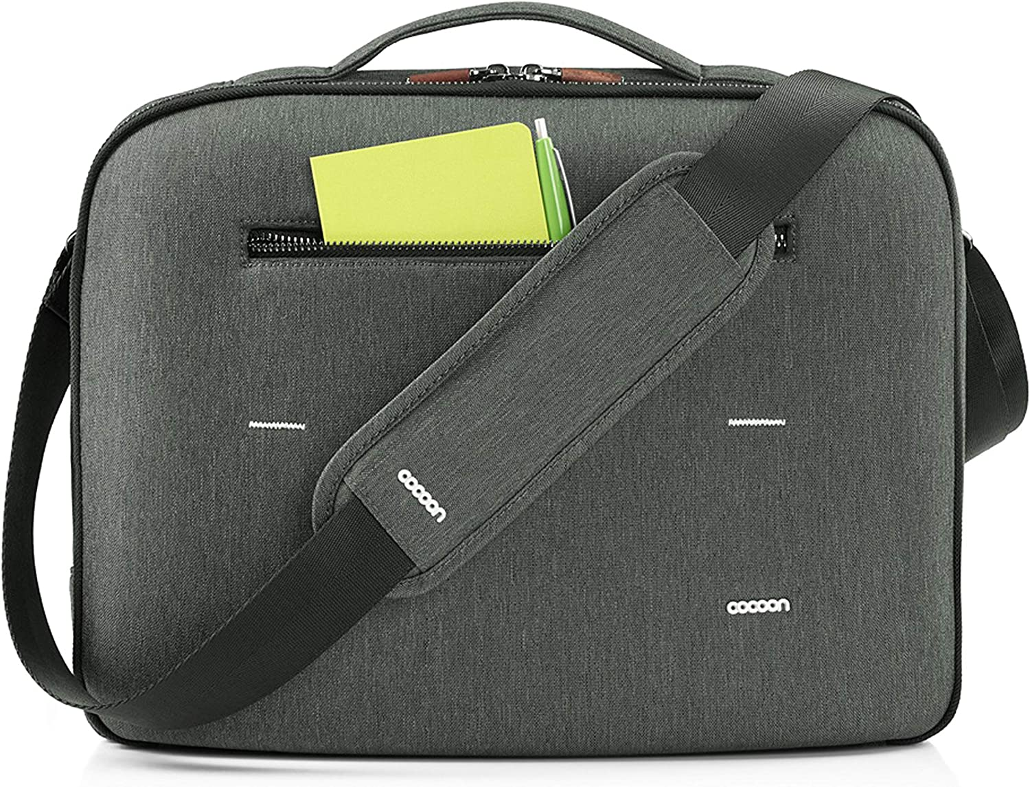 Water and Dust Resistant Case Nylon COCOON Anti-scratch Grey Lined Laptop Pocket 13 Frontal Pocket GRID-IT