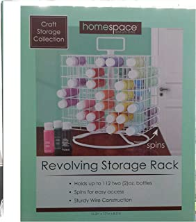 Craft Storage Collection; Craft Paint Revolving Storage Rack & Amazon.com: Wooden Craft Paint Storage Rack - Holds 81 Standard Size ...