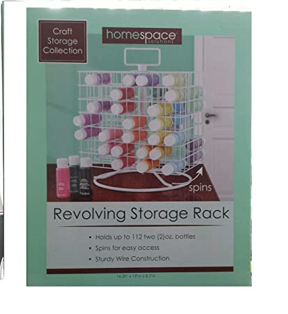 Craft Storage Collection; Craft Paint Revolving Storage Rack  sc 1 st  Amazon.com & Amazon.com: Craft Storage Collection; Craft Paint Revolving Storage Rack