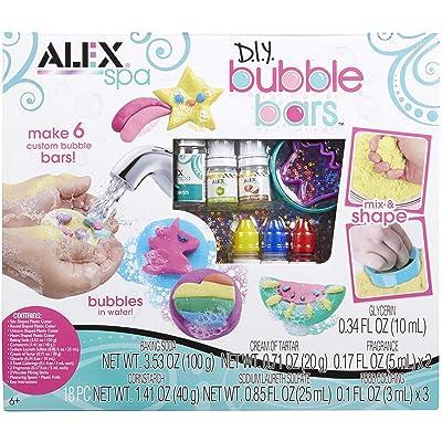 Alex Spa DIY Bubble Bars Girls Fashion Activity: Toys & Games