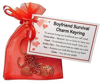 Boyfriend Survival Charm KEYRING