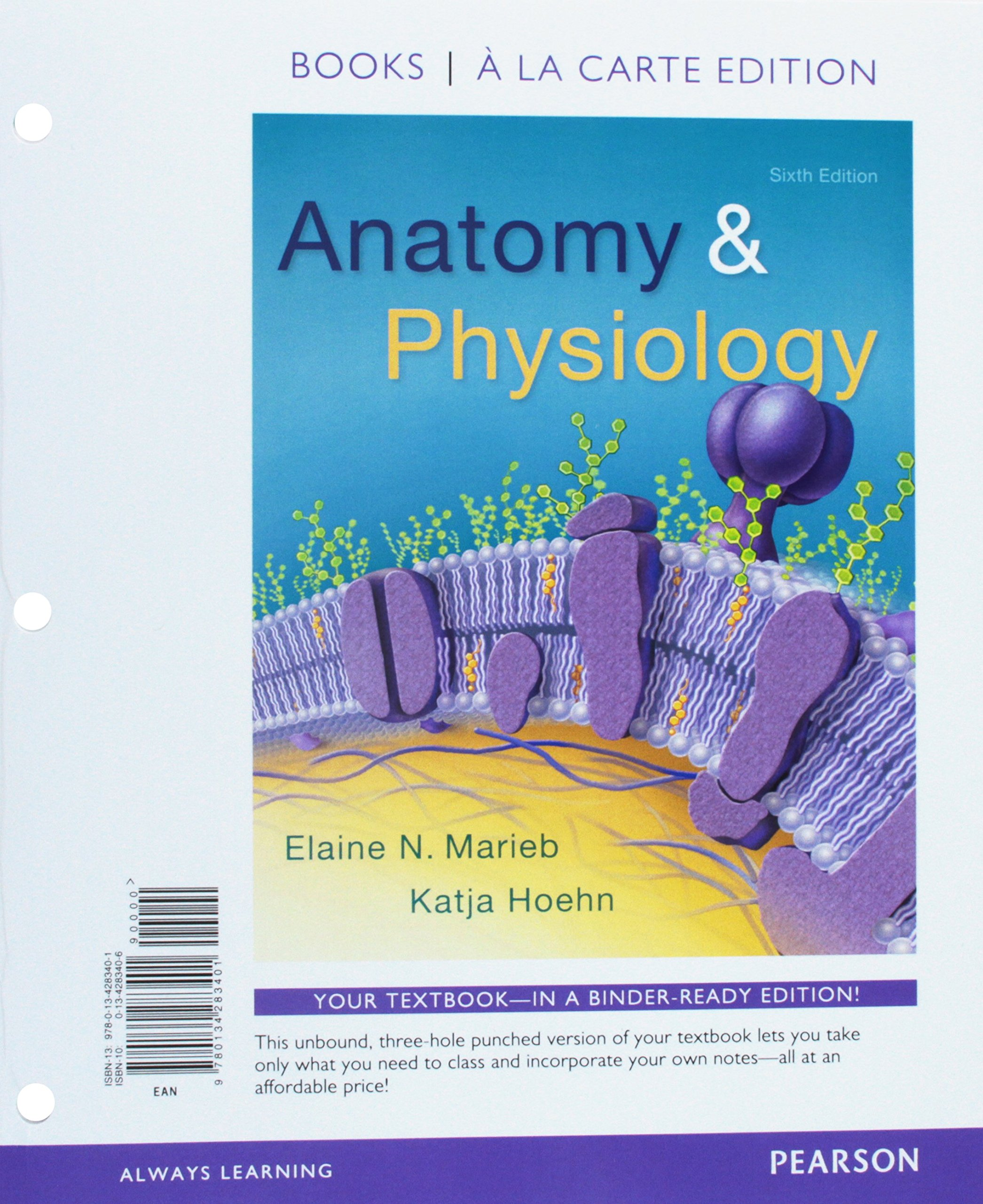 Anatomy & Physiology, Books a la Carte Edition; Laboratory Manual; Modified  Mastering A&p with Pearson Etext -- Valuepack Access Card; Wrap Card for  Anatomy ...