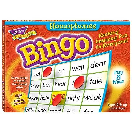 Trend Enterprises Homophones Bingo Game (760 Piece)