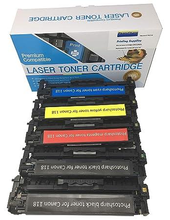 Yellow Laser Toner Cartridge for Canon ImageClass MF8580CDW Printer