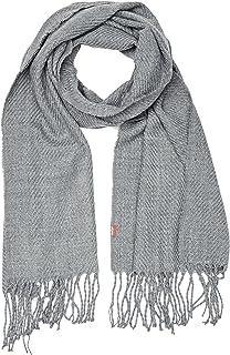 Levi s Solid Twill Oblong, Echarpe Homme, Gris (Noir Regular Grey 55), 3f992dd3868