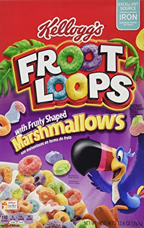 kelloggs froot loops marshmallow 357 g amazon co uk grocery