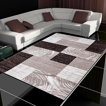 Tappeto moderno design patchwork a pelo corto soggiorno diversi ...