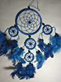 DREAM CATCHER BEAUTIFUL ITEM / DREAMCATCHER BLUE / FEATHERS