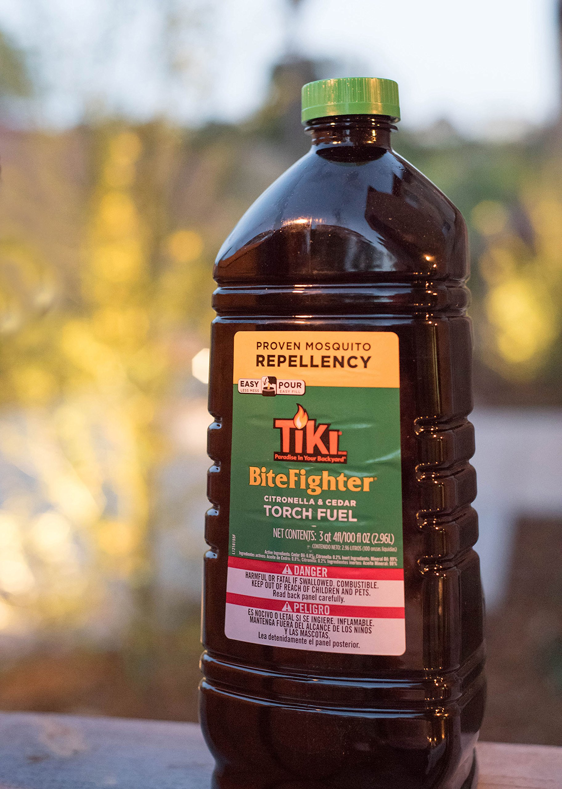 Tiki Brand Bitefighter Torch Fuel, 100 Ounces by Tiki (Image #6)