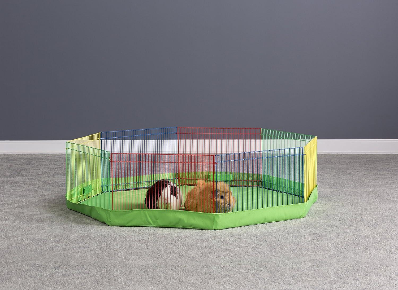 Amazon.com : Prevue Pet Products Multi-Color Small Pet Playpen 40090,  13-Inch : Pet Playpens : Pet Supplies