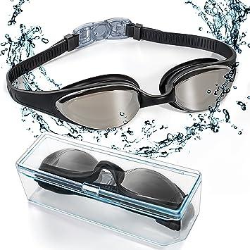 2514111a07 Gafas de Natación, EveShine Gafas para Nadar , Cristal Anti Niebla, Cómodo  Sello Hermético, para Adultos, Niños, Hombres, Mujeres: Amazon.es: Deportes  y ...