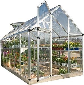 Palram Snap & Grow Greenhouse - 6'x 16'