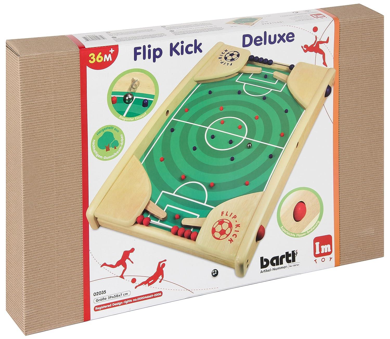 el Juego Habilidades de f/útbol para 2 Jugadores de Todas Las Edades Flip Kick Classic Pinball y Kicker Mix 50 cm