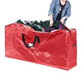Elf Stor 83-DT5511 Premium Red Christmas Bag