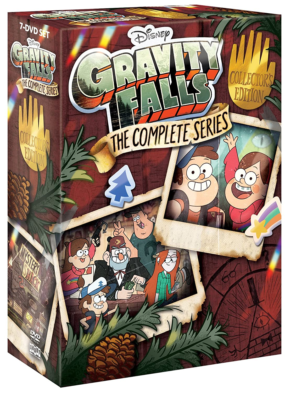 Gravity Falls: The Complete Series Jason Ritter Alex Hirsch Kristen Schaal Linda Cardellini