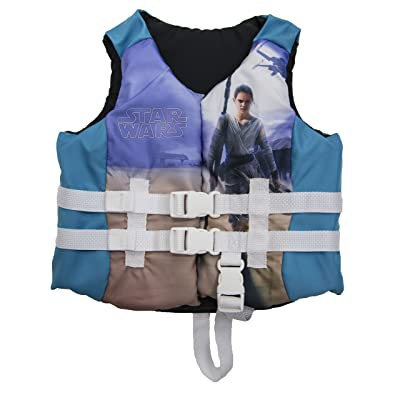 SwimWays Star Wars Rey PFD Life Jacket, Youth: Toys & Games