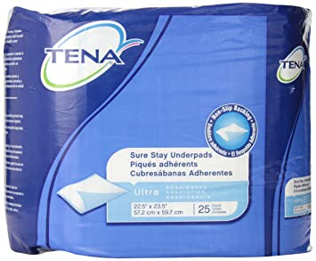 Tena Sure Stay Underpads, ...