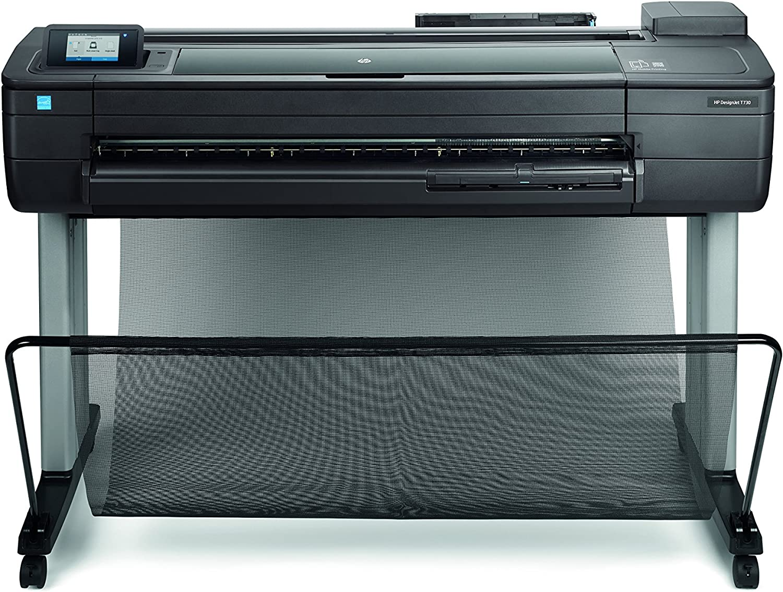 HP Designjet T730 36-in - Impresora de gran formato (HP-GL/2, HP-RTL, PCL 3, TIFF, URF, 2400 x 1200 DPI, Negro, Cian, Magenta, Amarillo, A0 (841 x 1189 mm), Inyección de tinta térmica,