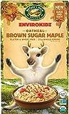 EnvirokidzOrganic Gluten-Free Instant Hot Oatmeal, Brown Sugar Maple, 9 Ounce