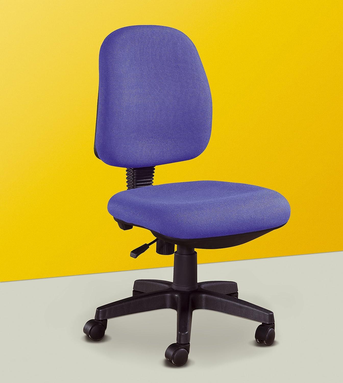 Studio Decor Sof07 Silla de Oficina tapizada en Tela, Azul, 52x55x92 cm: Amazon.es: Hogar