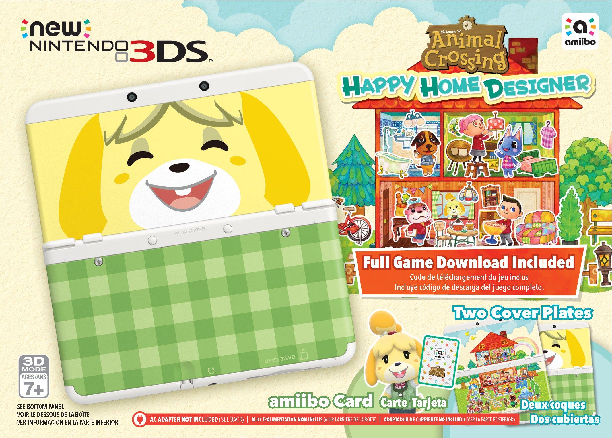 Nintendo Animal Crossing: Happy Home Designer + New 3DS Bundle by Nintendo (Image #5)