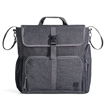 Diaper Dude Convertible Diaper Bag for Men   DADS Tote Backpack Organizer  Heavy Duty Messenger w cd6247b77cb7e