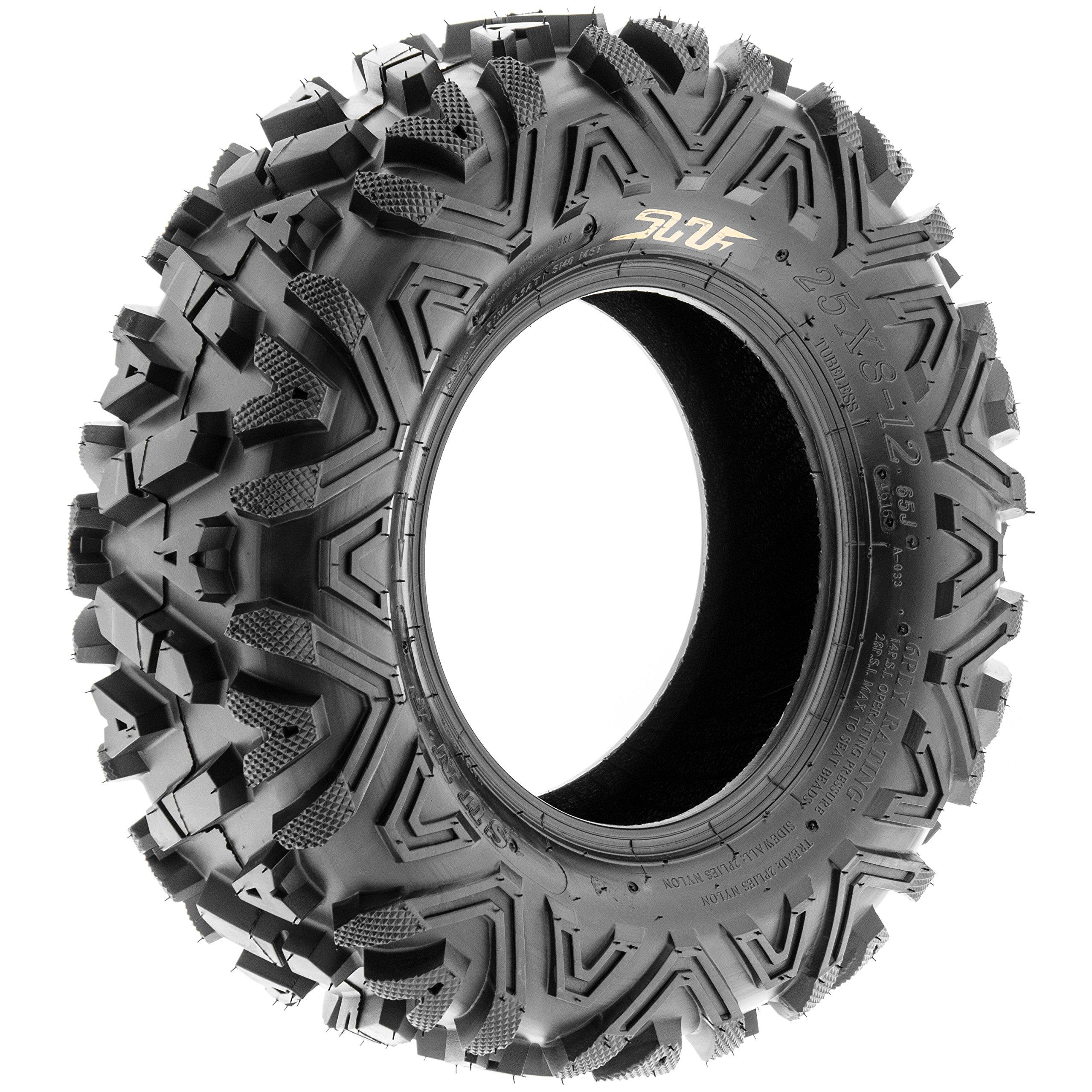SunF A033 ATV/UTV Tire 28x9-12 Front & 28x11-12 Rear, Set of 4 by SunF (Image #5)