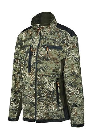 652081917b3f3 Verney-Carron Hunting Softshell Jacket ghostcamo snakeforest Pro Hunt,  Camouflage, XXXXL