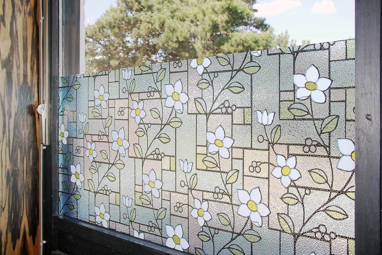 Tamia Home Statische Fensterfolie 90% UV Sonnenschutz