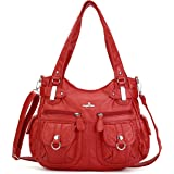 Angelkiss Women Top Handle Satchel Handbags Purse Shoulder Bag