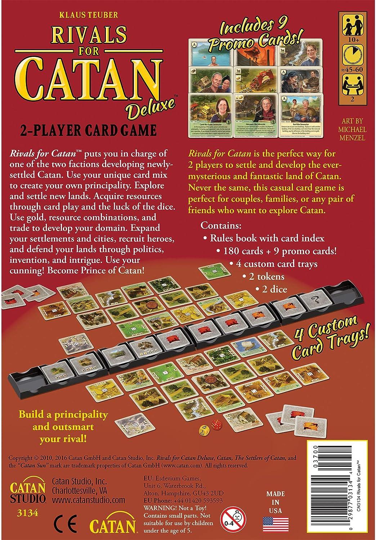 Catan Studios Rivales para Catan: DeluxeTM: Amazon.es: Juguetes y juegos