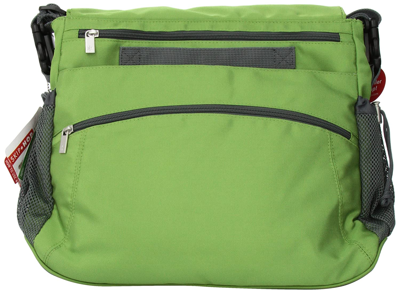 Skip Hop Via Messenger Diaper Bag Green 210003-CO