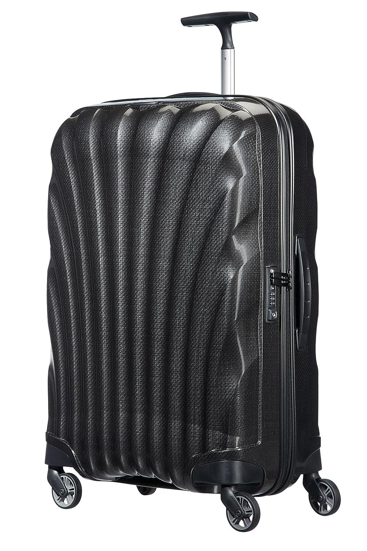 [サムソナイト] スーツケース Cosmolite コスモライト スピナー65 FL2 無料預入受託サイズ 保証付 68L 69cm 2.3kg V22*09306 B01BBZXNSIブラック