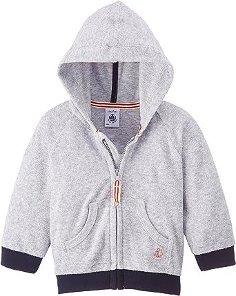 Petit Bateau Sweat-Shirt /À Capuche B/éb/é gar/çon