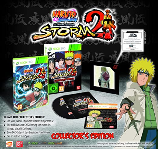 Naruto Shippuden: Ultimate Ninja Storm 2 - Collectors ...