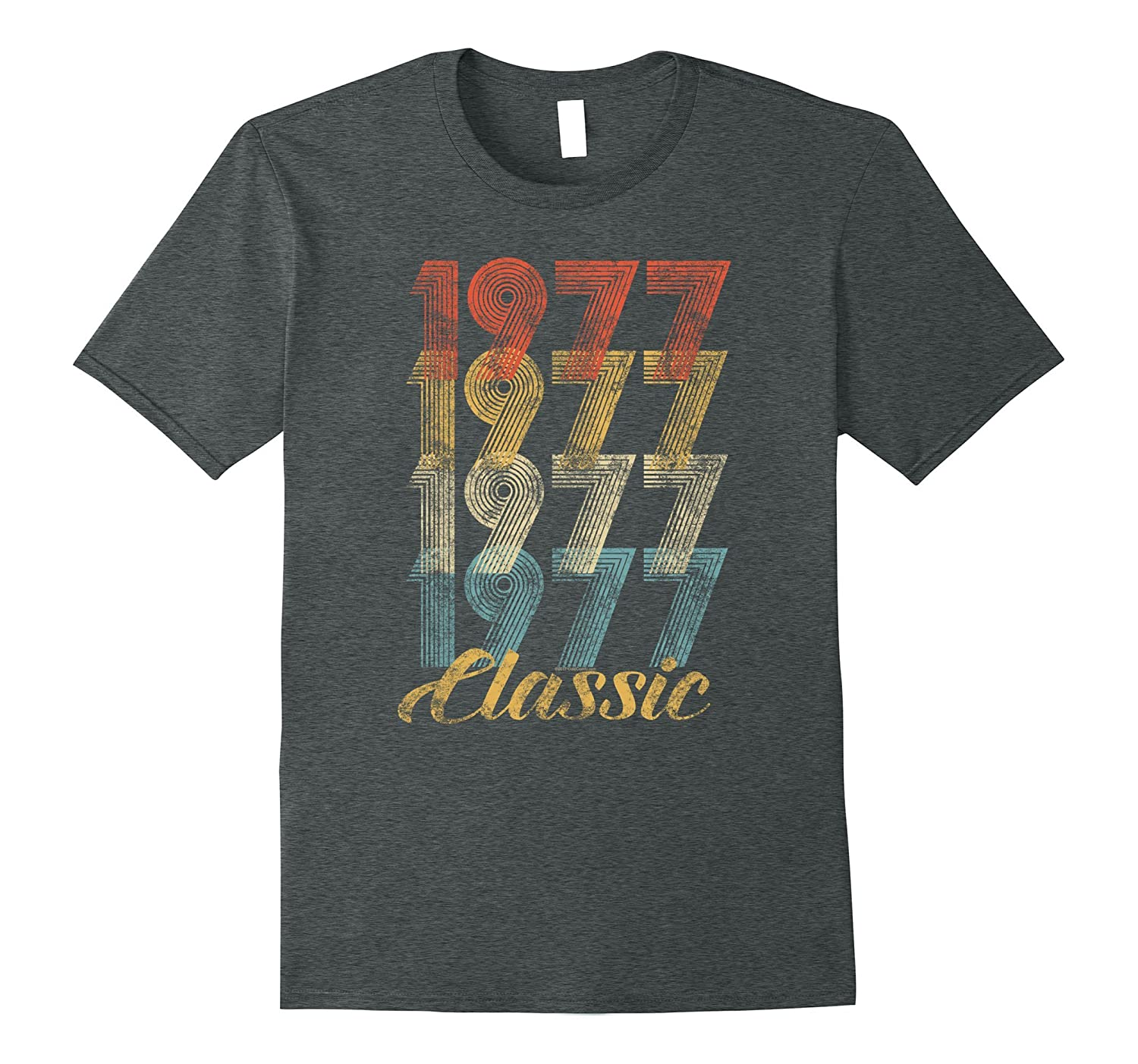 40th Birthday Gift Vintage 1977 T-Shirt for Men & Women-BN