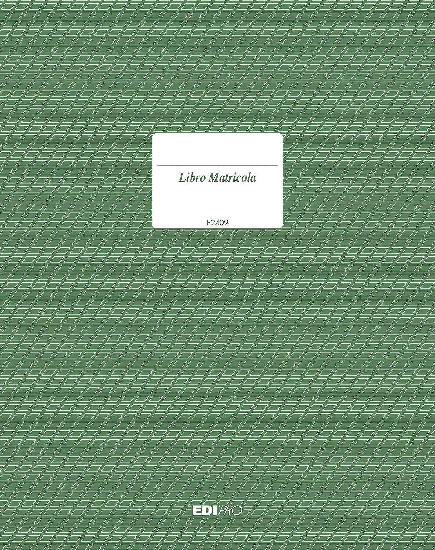 EDIPRO Registro matricola 23 pagine numerate f.to 31x24,5 E2409