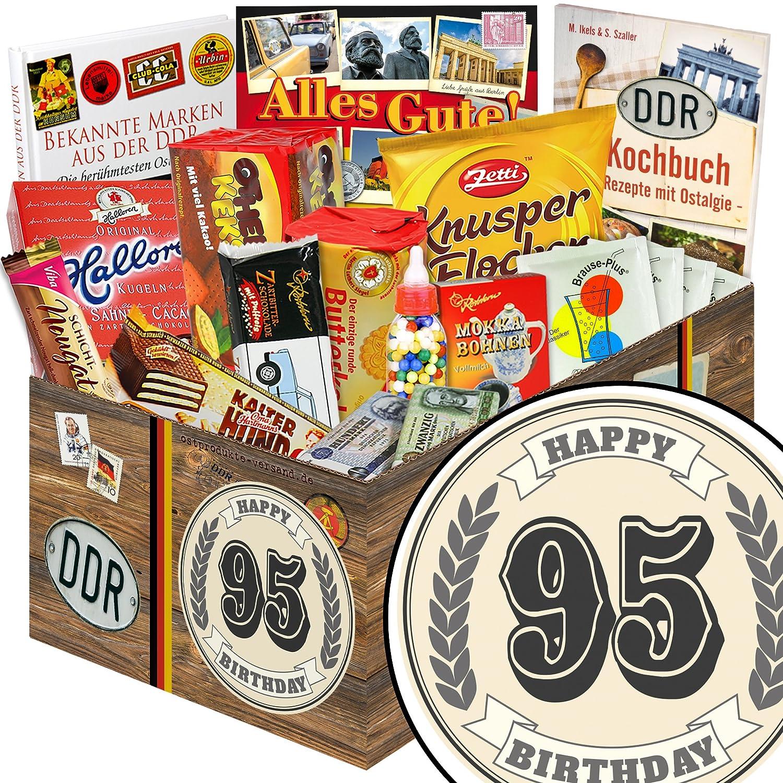 Geschenk Idee 95 | Geschenke 95 Geburtstag Frau S/ü/ßes DDR Set