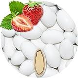 500g Hochzeitsmandeln Gastgeschenke Erdbeere weiß Schokomandeln griechisch EinsSein® Hochzeit Zuckermandeln Schokomandeln Bonboniere Bonbons Schokotafeln ohne organzasäckchen Dragees Taufmandeln