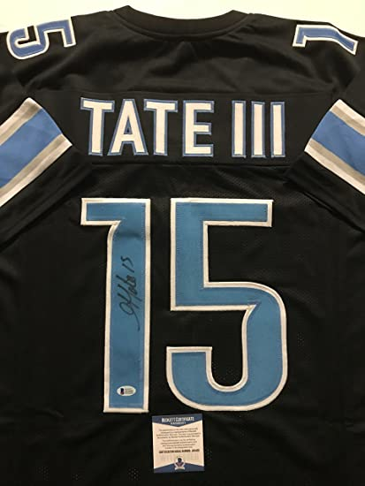 black golden tate jersey