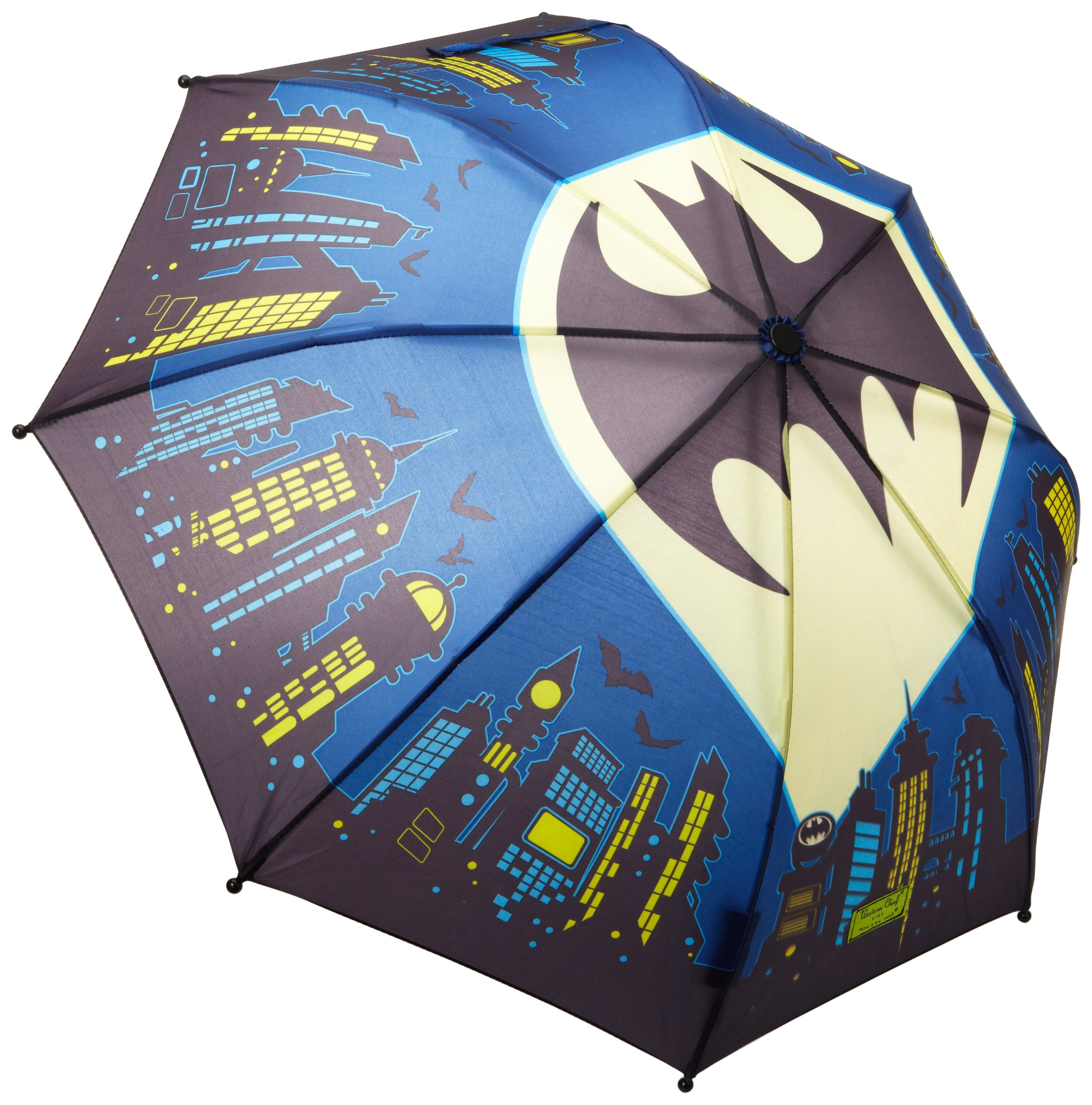 Western Chief Kids Character Umbrella, Batman Everlasting, One Size
