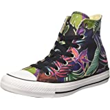 Converse Mens Chuck Taylor All Stars Tropical Print Hi Top Canvas Trainers